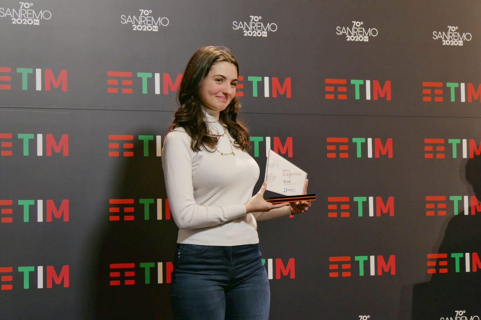 Sanremo: Tecla ha vinto il Premio Enzo Jannacci 2020