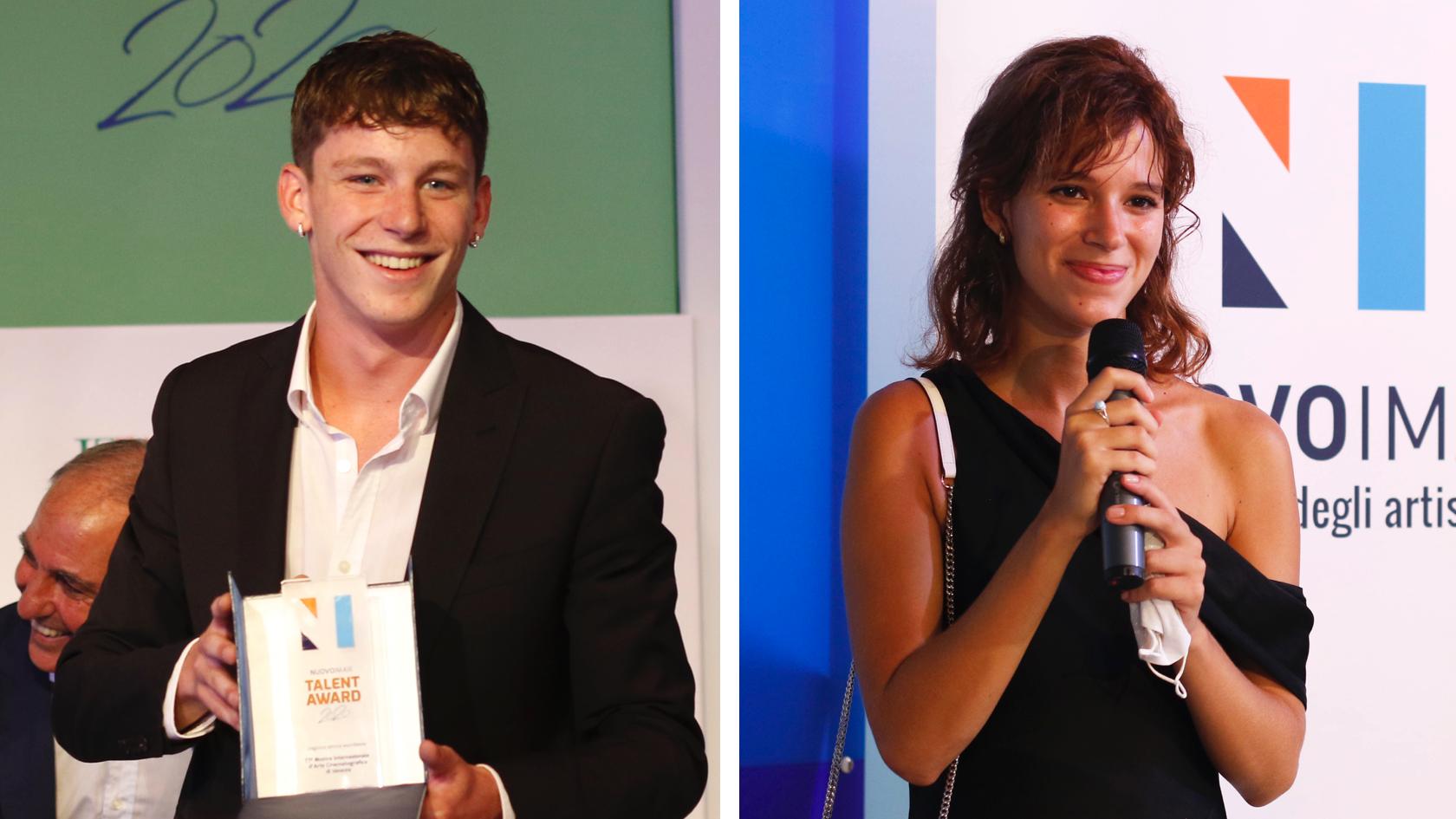 NUOVO IMAIE Talent Award 2020 a Luka Zunic ed Eleonora De Luca