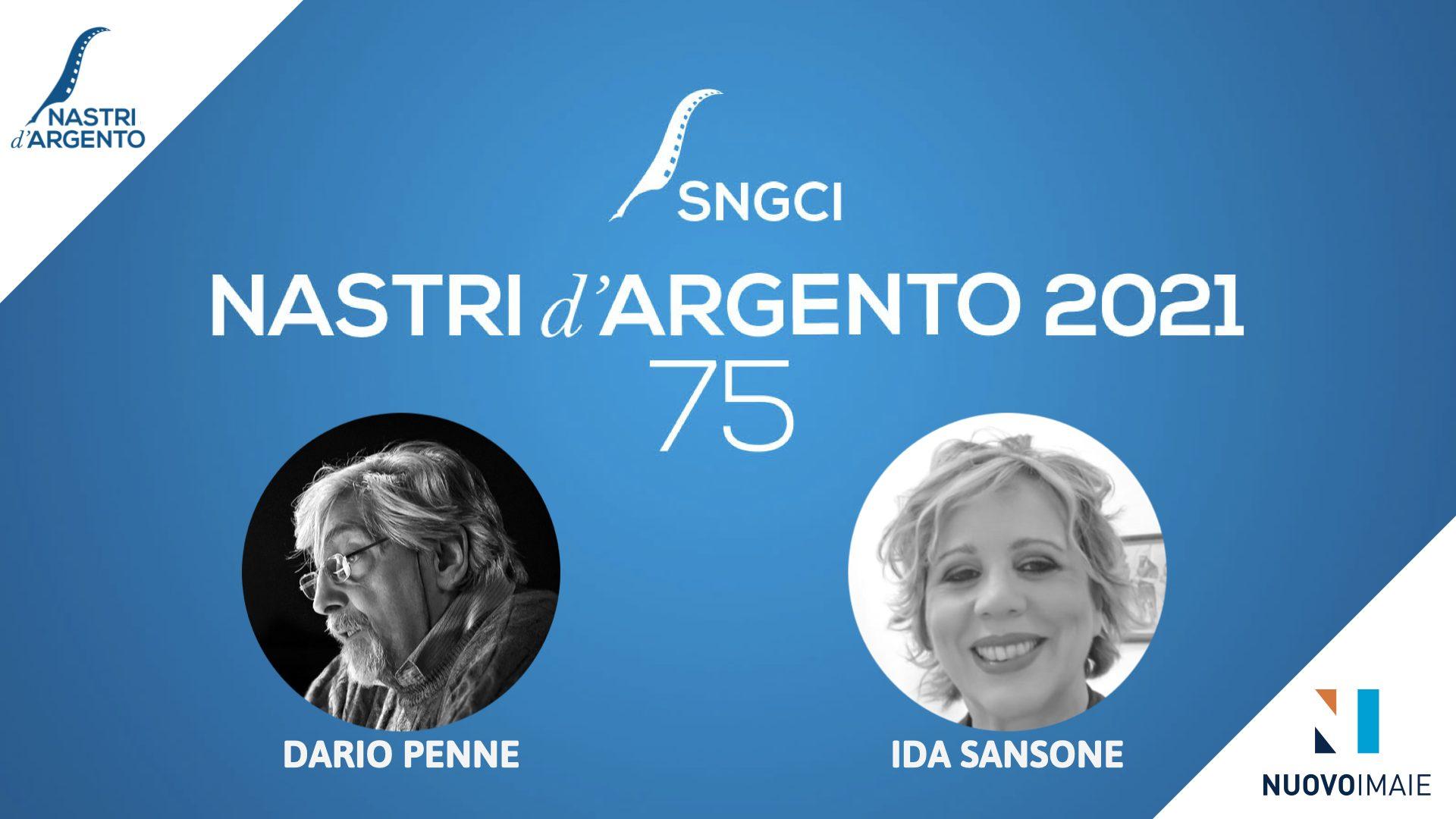 """Premio """"Nastri d'Argento – NUOVO IMAIE"""" per il doppiaggio a Dario Penne e Ida Sansone"""