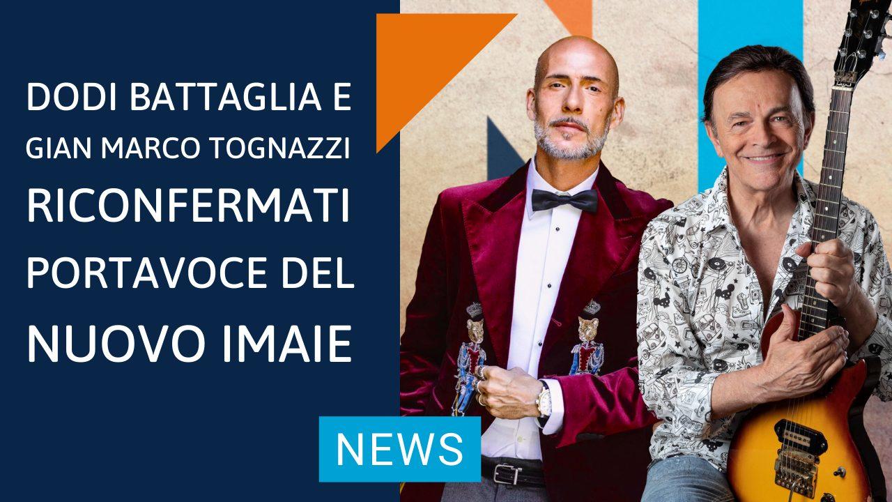 Dodi Battaglia e Gian Marco Tognazzi riconfermati Portavoce del NUOVO IMAIE