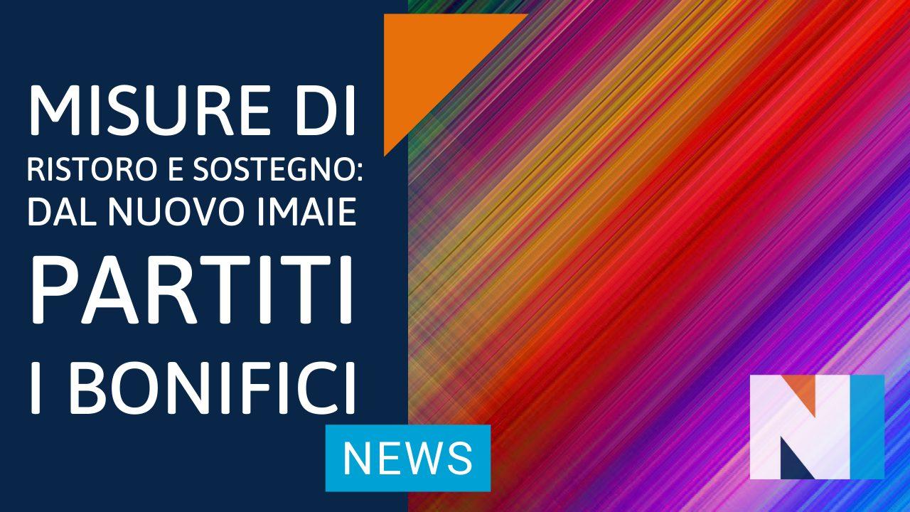 Misure di Ristoro e Sostegno Artisti: partiti i bonifici anticipati dal NUOVO IMAIE
