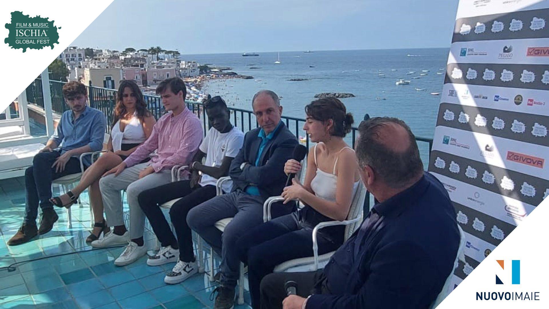 NUOVO IMAIE insieme ai giovani attori all'Ischia Global Fest